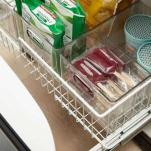 freezer drawer organization from The Home Edit