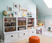 attic turned playroom