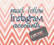 Insta Accounts to Follow